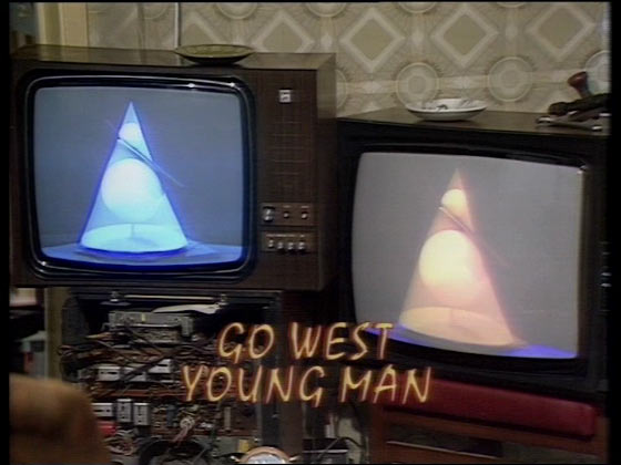 Go West Young Man title