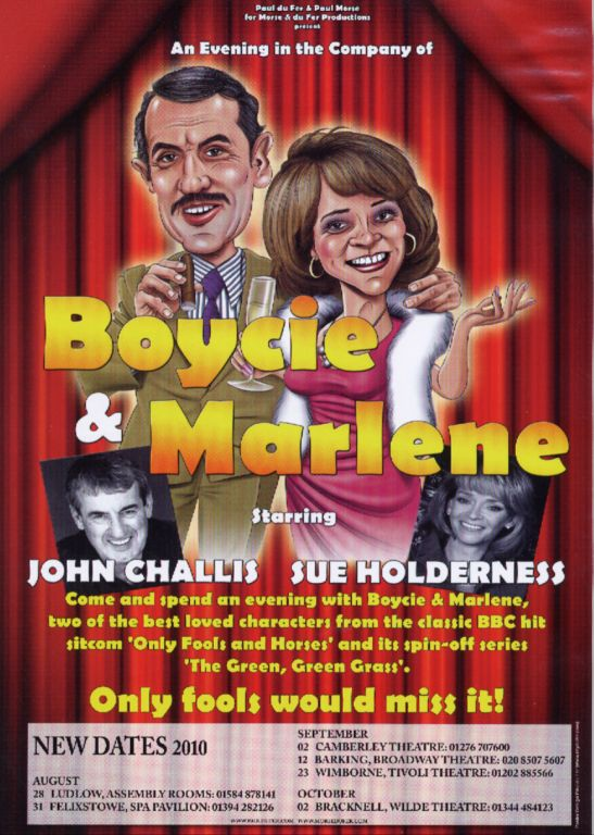 Boycie & Marlene Tour Dates