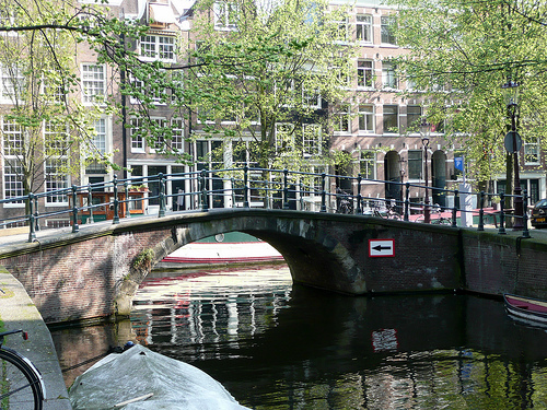 Only Fools and Horses Location: Raamgracht (from Groenburgwal), Amsterdam 2009