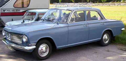 Vauxhall 4-Door Saloon