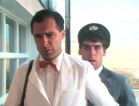 Danny Peacock in the film Gino