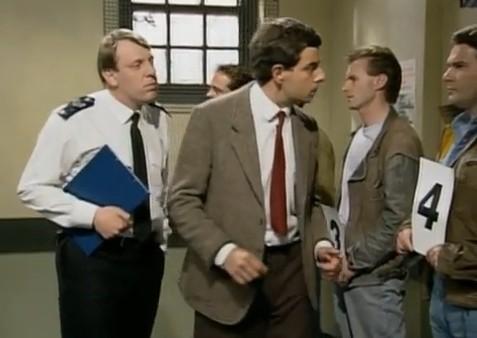 Robin Driscoll in Mr Bean