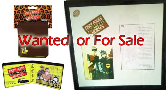 For Sale - Only Fools Items