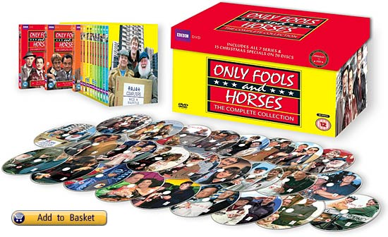 DVD boxset for only fools and horses