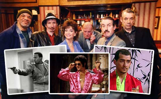 Guests confirmed so far  Tony Angelino, Trigger Boycie Marlene Mickey Pearce Sid Denzil Gary   And now the Sh Ad Dow – Lennox Gilby