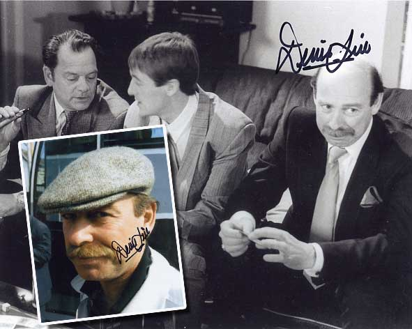 Denis Lill played Alan Parry in Only Fools and Horses