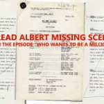 Original script shows missing scene