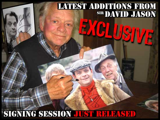 SIR DAVID JASON AUTOGRAPHS