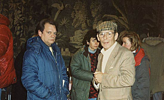 Ray Butt with David Jason