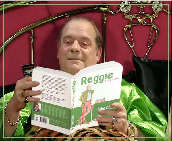BSOcjqUCQAEIDZ-DJ reads REGGIE