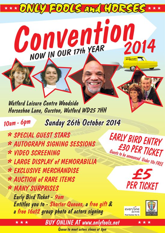 The Only Fools and Horses Convention 2014
