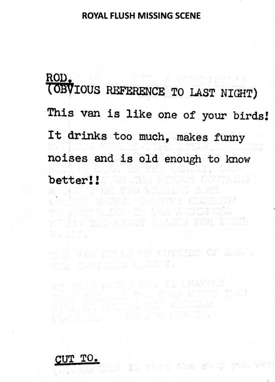 More lost scripts part 3