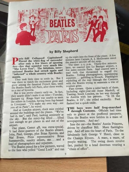 Beatles article