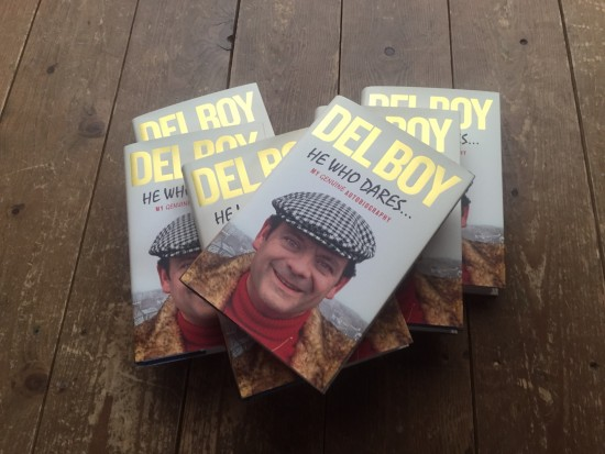 Win a book - Del Boy of Only Fools and Horses should be hired by
