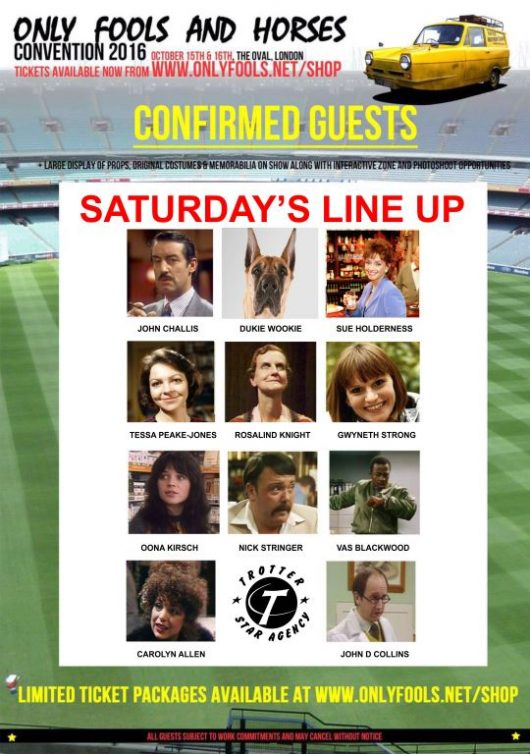 saturday only fools lineup