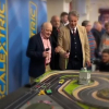 Del Boy vs Boycie Scalextric race