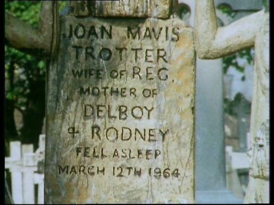 The Yellow Peril grave stone