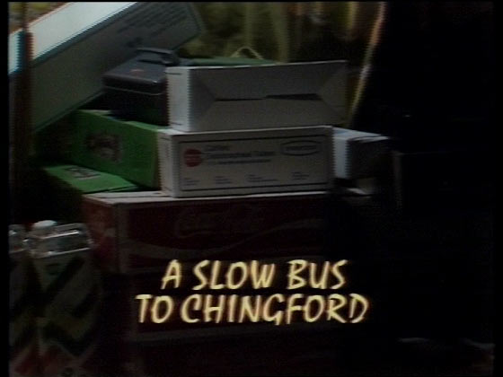 A slow bus to chingford