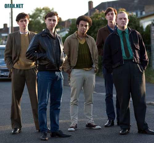 Del Boy, Trigger (Lewis Osborne), Boycie (Stephen Lloyd) and Denzil (Ashley Gerlach) and others