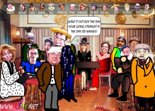 Only Fools and horses Big Brother
