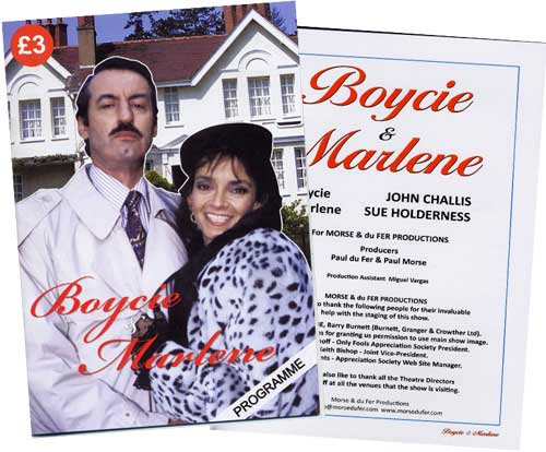 An Audience with Boycie and Marlene