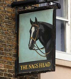 The Nags Head in the 1960s Rock and Chips prequel