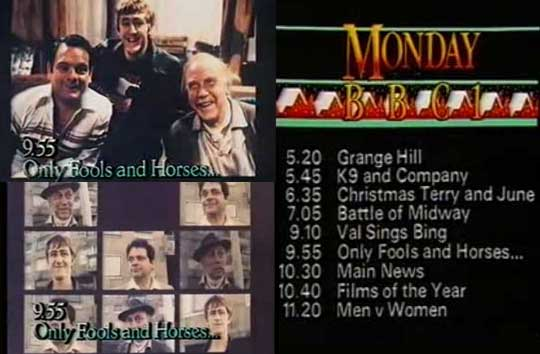 old only fools and horses trailer