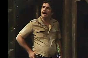 As a Spanish guard in only fools and horses