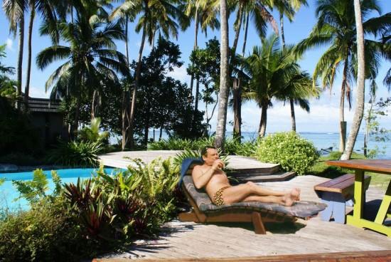 Del Boy on Celebrity love island