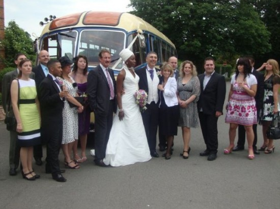 Perry and Stellas wedding guests