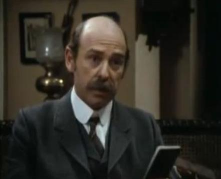 Dennis Lill in Sherlock Holmes