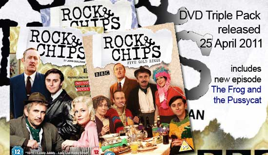 Rock and Chips Triple DVD