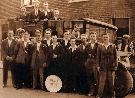1930s Jolly Boys Football Club