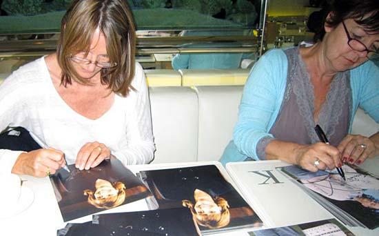 Gwyneth and Tessa Autographs