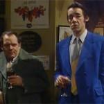 Del or Rodney falls through bar. Really?