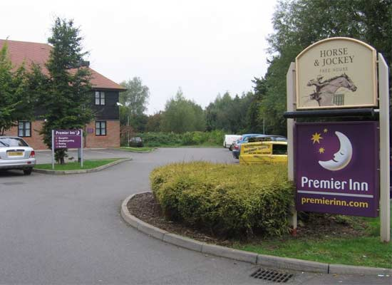 Trotters at the Premier inn