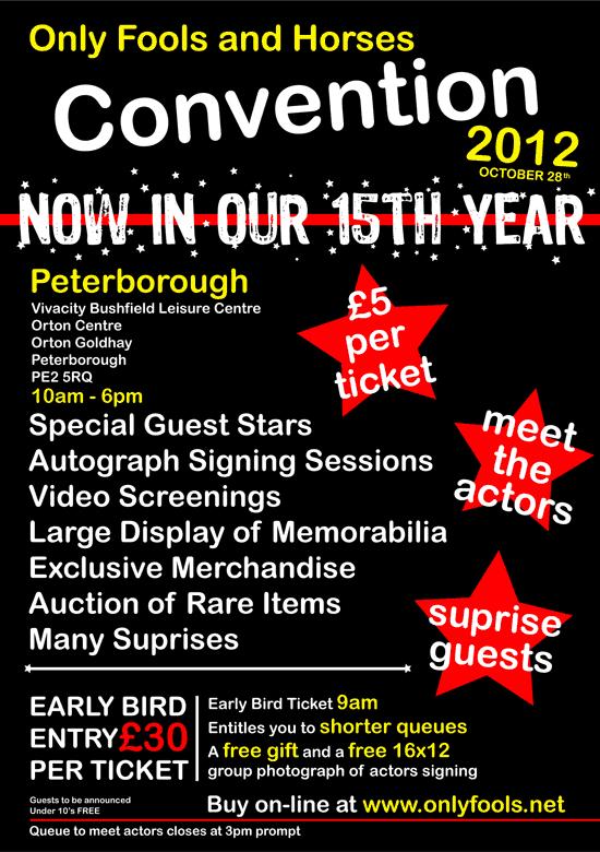 Convention details in Peterborough