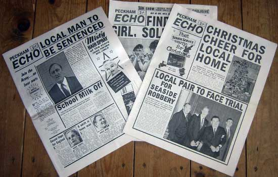 Freddie Robdal's arrest - peckham echo