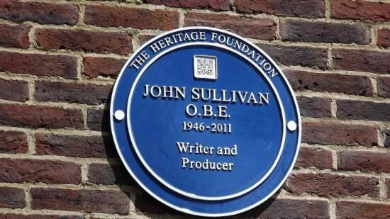Blue plaque John Sullivan