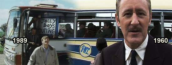 Jolly Boys Outing Coach - Only Fools & Horses Episode of characters