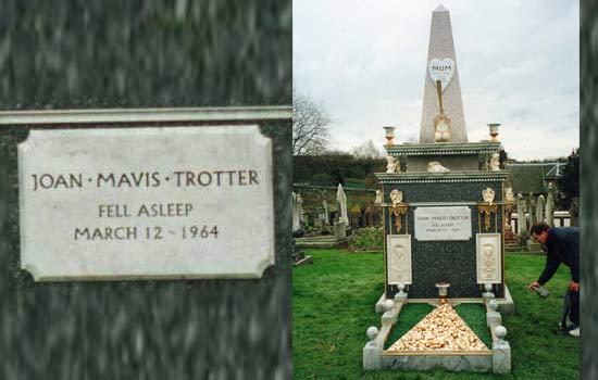 Joan Mavis Trotter Grave
