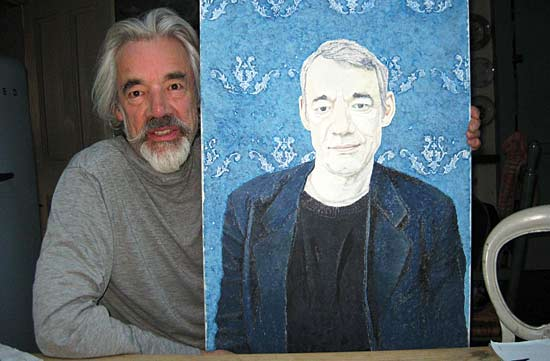 Roger Lloyd-Pack Painting of Trig