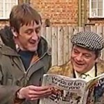 Unseen Only Fools and Horses footage