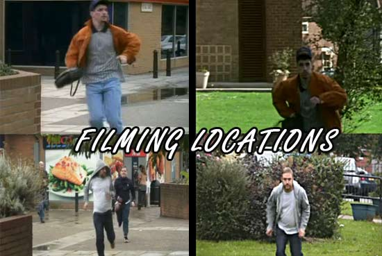 On location filming
