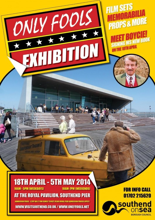 Only Fools and Horses Exhibition at The Southend Pier Royal Pavilion