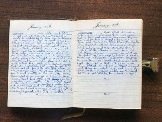 Diary of the Beatles visit