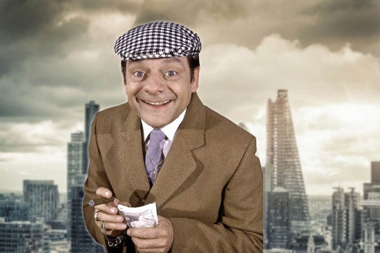 Del Boy of Only Fools and Horses should be hired by