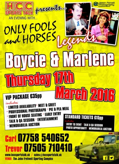 Boycie and Marlene