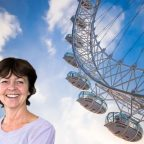 raquel at LONDON EYE