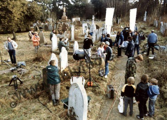 graveyard butterfly scene